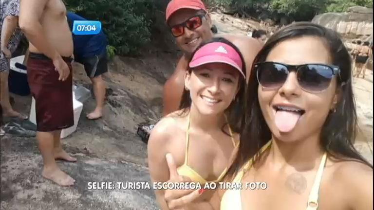 Turista escorrega ao tentar fazer selfie e morre em cachoeira no Rio ...