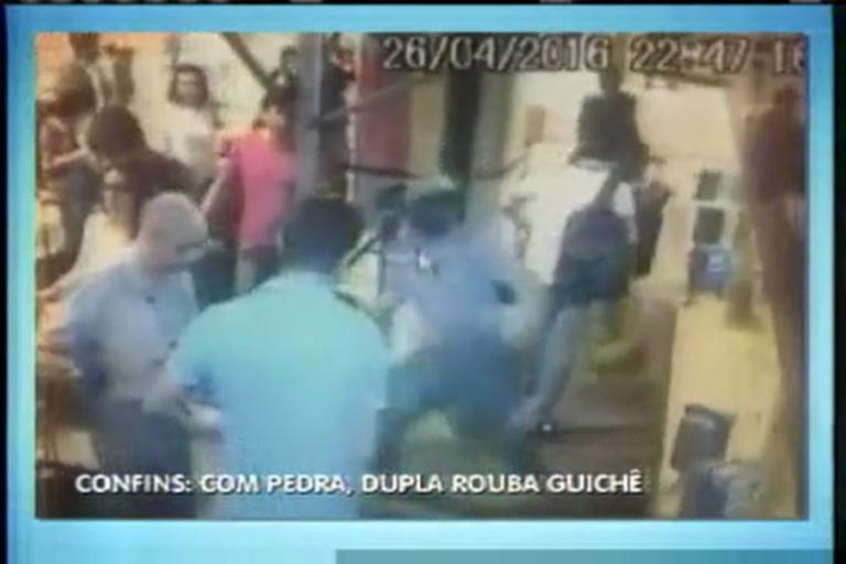 Dupla quebra vidro no Aeroporto de Confins para roubar R$ 8.000 ...