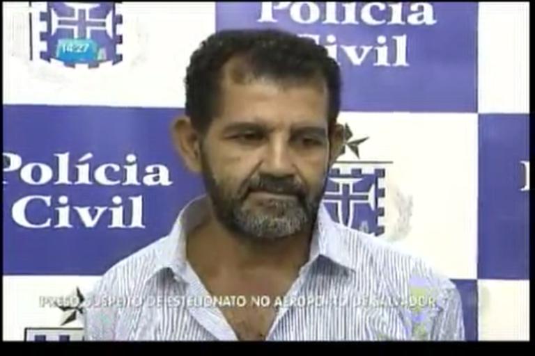 Preso suspeito de estelionato no aeroporto de Salvador - Bahia - R7 ...