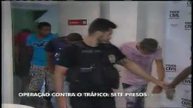 Operação contra o tráfico na PPL prende sete em BH - Minas Gerais ...