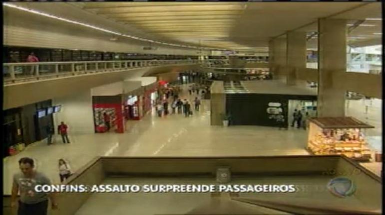 Assalto em Confins deixa passageiros inseguros e PM reforça ...