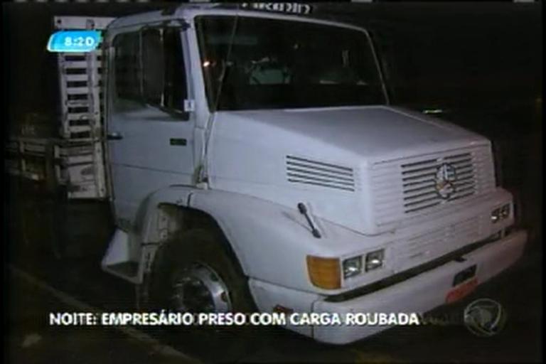 Dono de marmoraria é preso com caminhão roubado com carga de ...