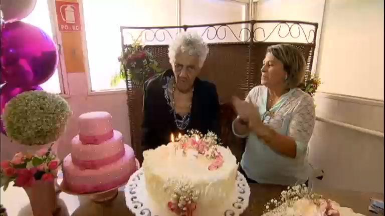 Idosa comemora 115 anos em abrigo de Goiânia - Notícias - R7 ...
