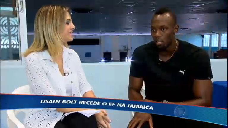 Em entrevista exclusiva, Usain Bolt fala sobre a expectativa para os ...