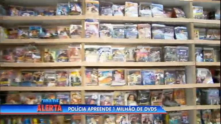Polícia apreende 1 milhão de DVDs piratas no centro de São Paulo ...