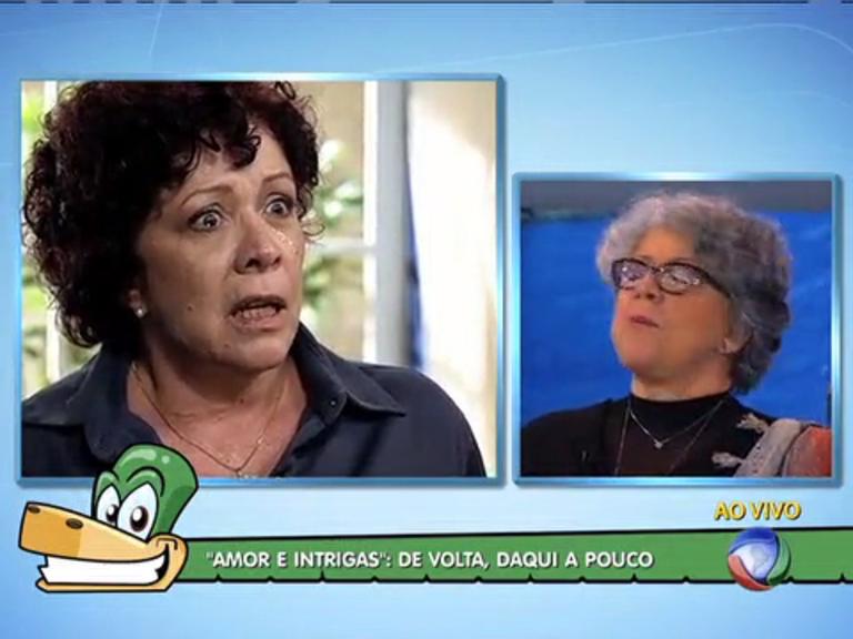 """""""A novela não é só tristeza"""", afirma atriz de Amor e Intrigas - Rio de ..."""