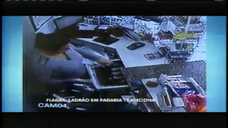 Câmera flagra roubo em padaria tradicional de Pouso Alegre (MG ...