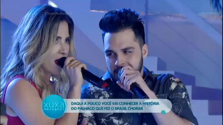 Wanessa Camargo e Phillipe, filho do Luciano, cantam juntos no ...