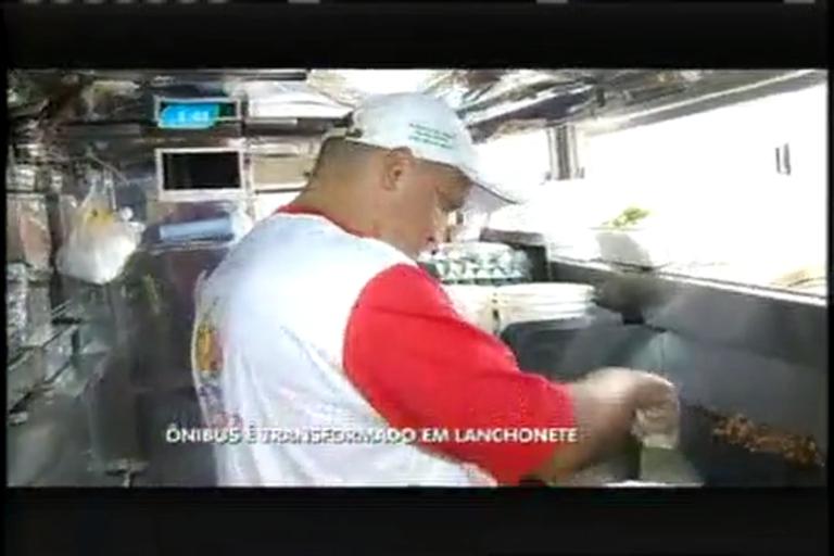 Morador de Pouso Alegre (MG) transforma ônibus em lanchonete ...