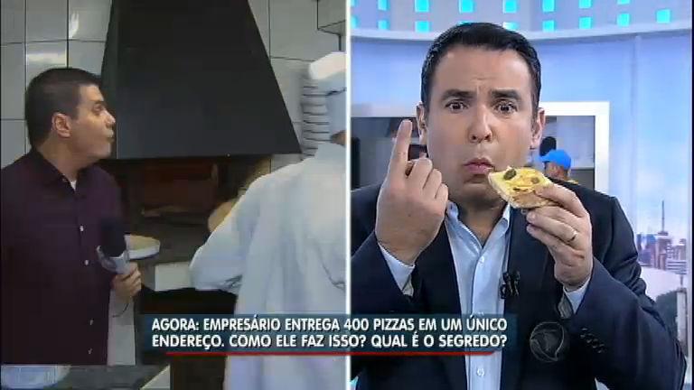 Pizzaiolo descobre um jeito de ganhar dinheiro e vender 400 pizzas em um só lugar