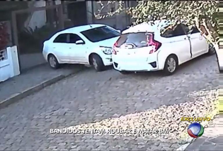 Bando tenta roubar e matar Coronel