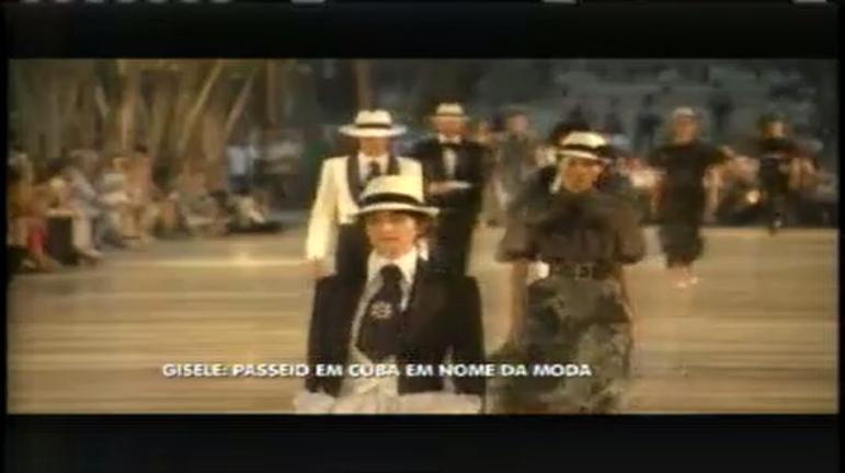 Hora da Venenosa: Gisele Bundchen passeia em Cuba em nome da moda