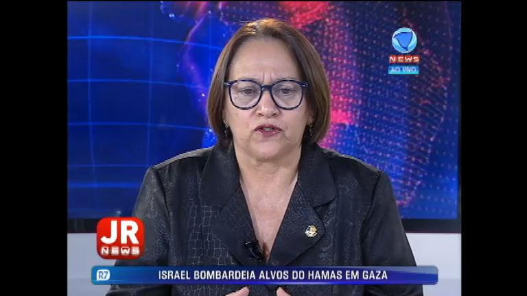 Senadora Fátima Bezerra (PT-RN) critica relatório de Anastasia e chama impeachment de golpe