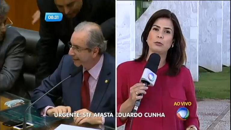 STF afasta Eduardo Cunha da presidência da Câmara e do cargo de deputado federal