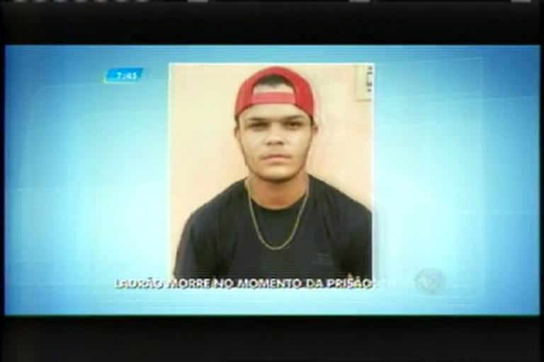 Ladrão morre durante a prisão no Triângulo Mineiro