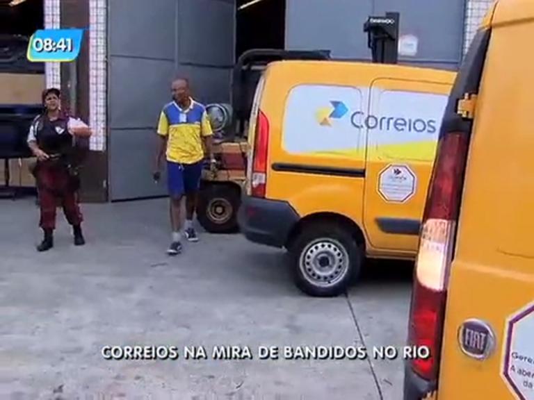 Rio aparece como segundo no ranking de roubos a encomendas dos Correios