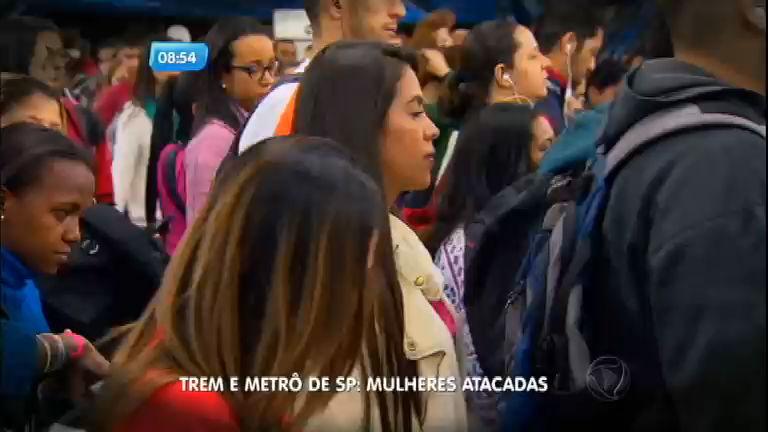 Mulheres relatam abusos sexuais no Metrô de São Paulo