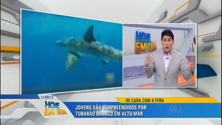 Que Susto! Durante pescaria tubarão de cinco metros se aproxima ...
