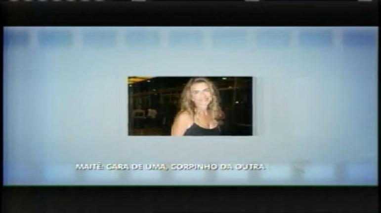 Hora da Venenosa: atriz confessa ter sido dublê de corpo de Maitê Proença