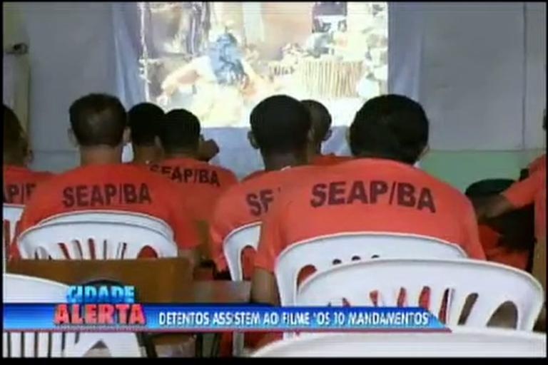 """Detentos assistem ao filme """"Os Dez Mandamentos"""" - Bahia - R7 ..."""