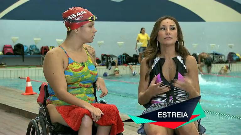 Sabrina Sato faz homenagem à mãe de atleta paralímpica no ...