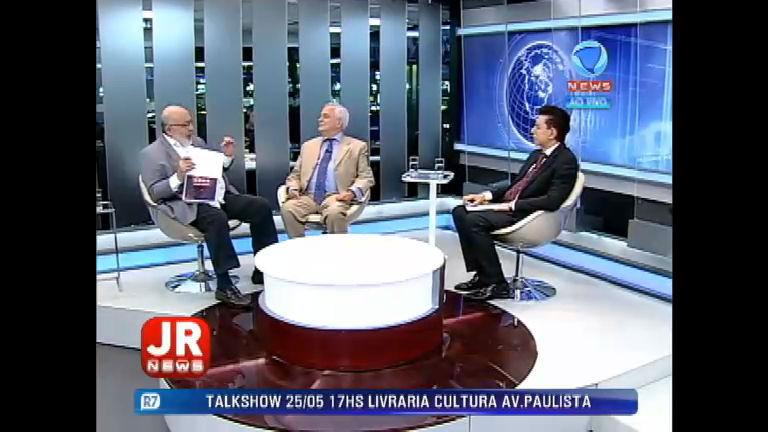 Jornal da Record News debate o afastamento de Eduardo Cunha