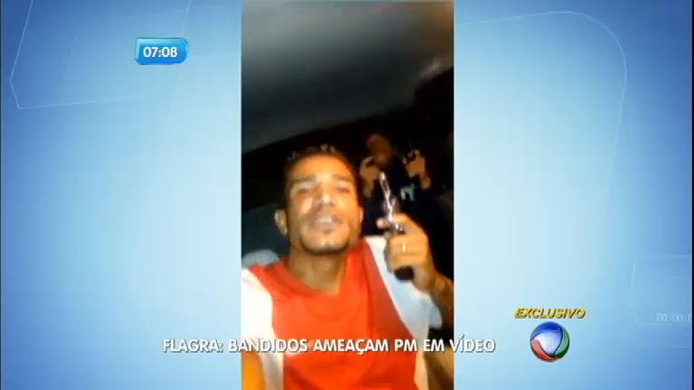 Em vídeo, bandidos exibem armas e ameaçam polícia e gangues ...