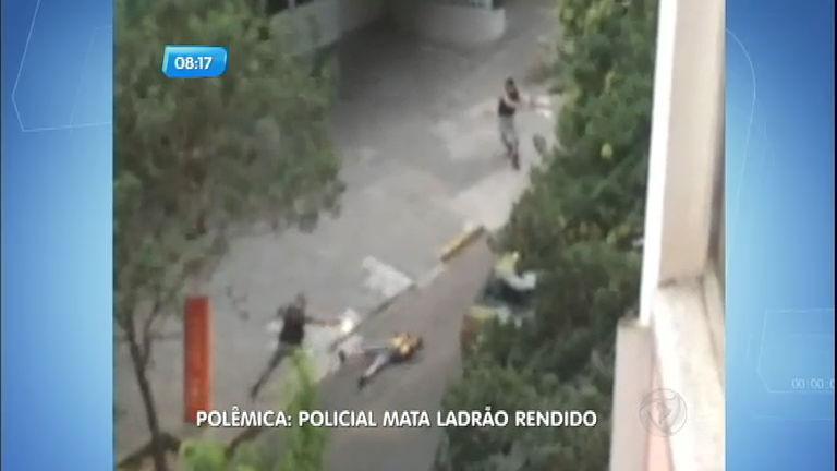 Policial mata ladrão rendido em frente a hospital em Porto Alegre