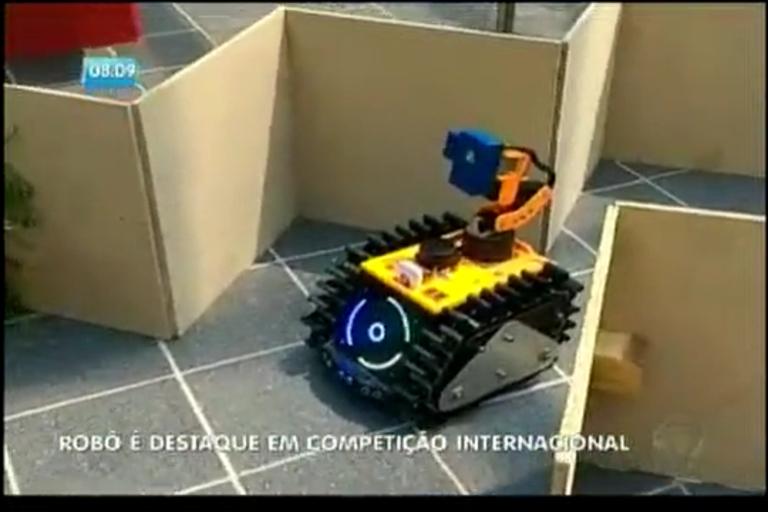 Robô baiano é destaque em competição internacional - Bahia - R7 ...