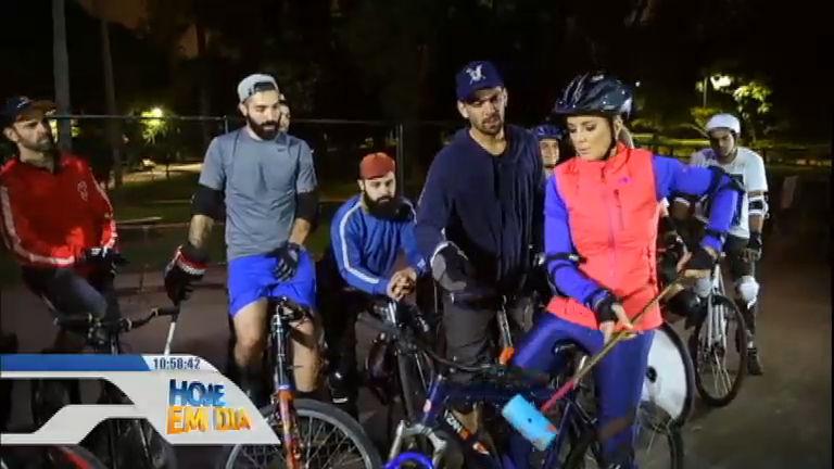 Minha Tribo: Tici conhece de pertinho o 'bike pólo' e se arrisca no esporte