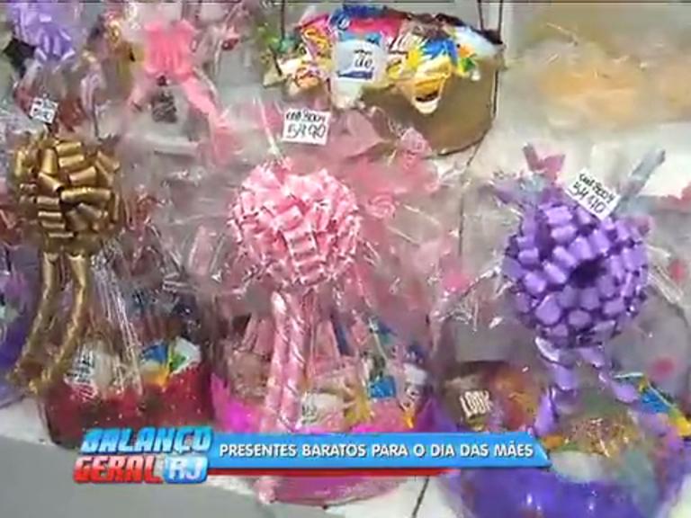 Conheça opções de presentes baratas para o Dia das Mães
