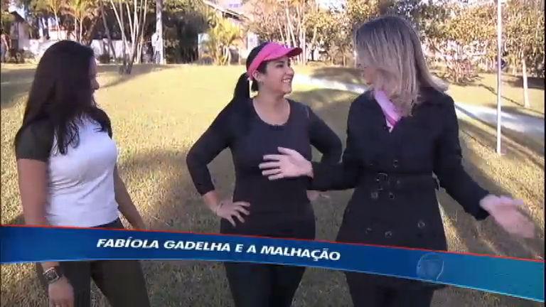 Esporte Fantástico mostra a rotina de treinos da jornalista Fabíola ...