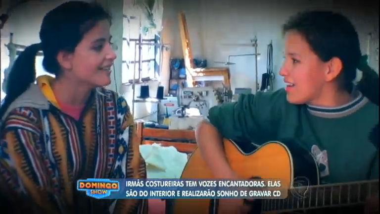Irmãs costureiras soltam a voz e realizam sonho de gravar CD ...