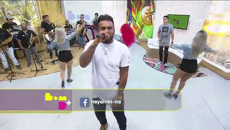 Reveja Ney Alves e o Forró na Hora no Bom D+ - Bahia - R7 Bom ...