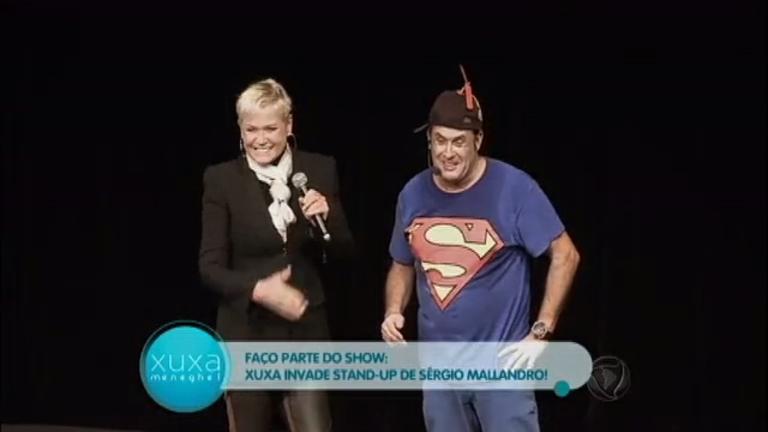 Pegadinha do Mallandro! Xuxa apronta pra cima do humorista ...