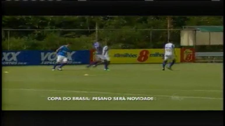 Esporte: Pisano é novidade no Cruzeiro em jogo pela Copa do Brasil
