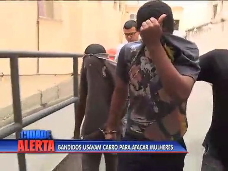 Polícia prende suspeitos de cometerem assaltos a mulheres em ...