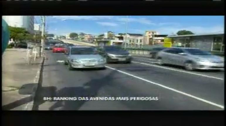 Cristiano Machado é a avenida mais perigosa de BH