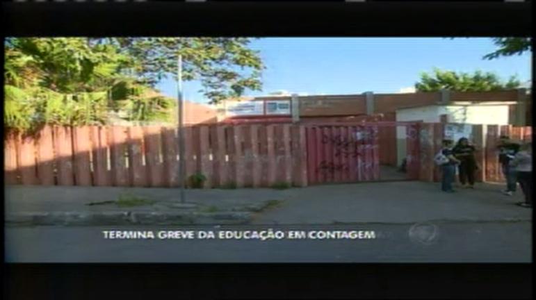 Termina greve da educação em Contagem