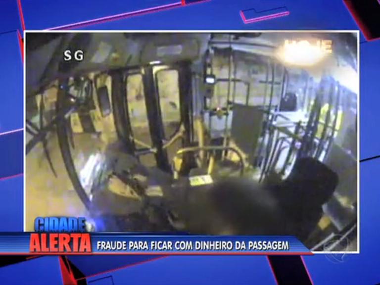 Motorista de ônibus frauda roleta e dá prejuízo de R$ 10 mil