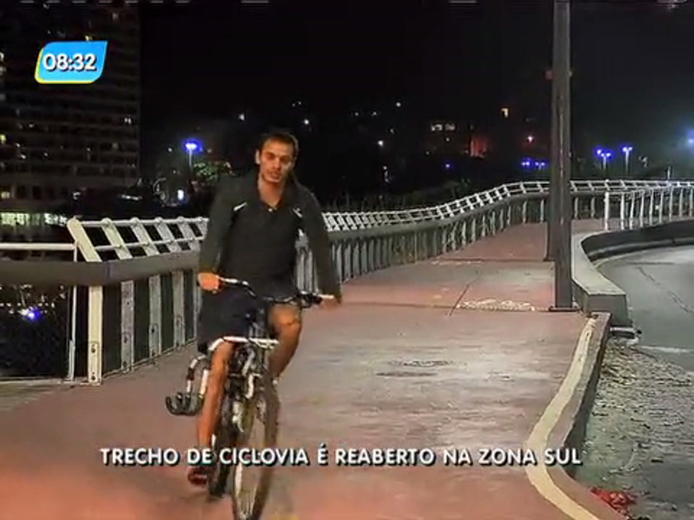 Justiça descarta perigo e libera techo da ciclovia Tim Maia - Rio de ...