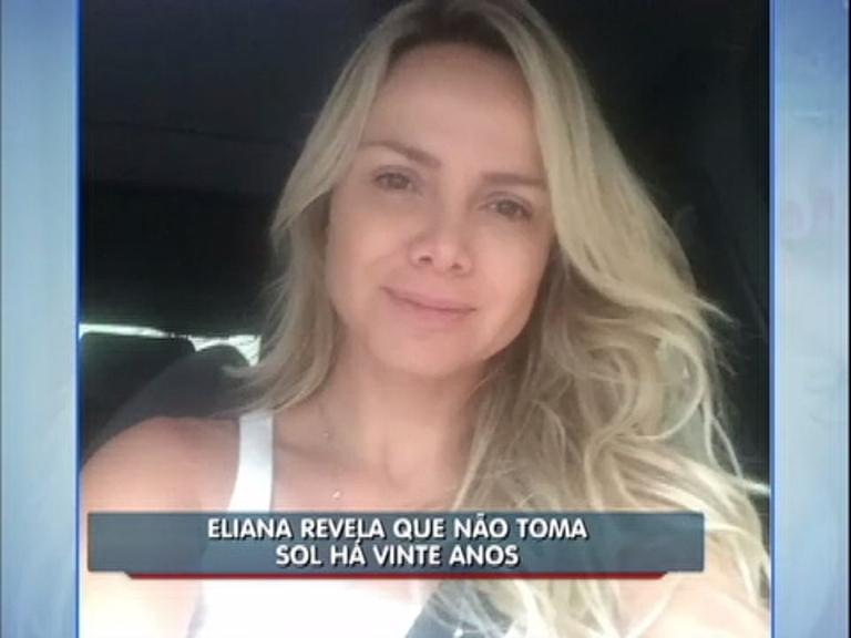 Balanço Geral Online: Eliana revela que não toma sol há 20 anos ...
