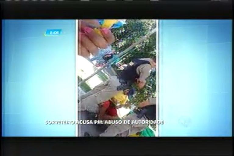 Sorveteiro acusa polícia de Pouso Alegre (MG) de uso de autoridade