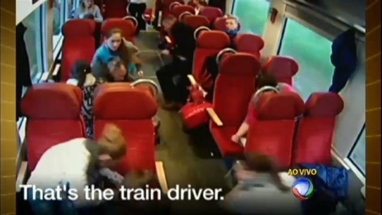 Maquinista salva passageiros de trem segundos antes de bater em ...