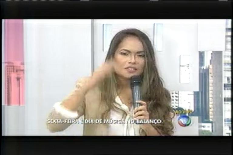 Victoria Bicalho canta ao vivo no Balanço Geral MG - Minas Gerais ...