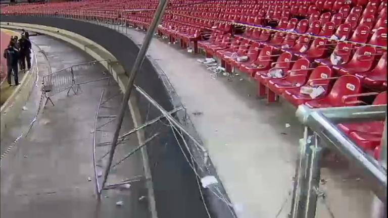 Polícia Militar proíbe realização de jogos no Estádio do Morumbi até ...
