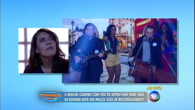 Zé Timba e Zé Latinha se apresentam no Domingo Show e recebem ...