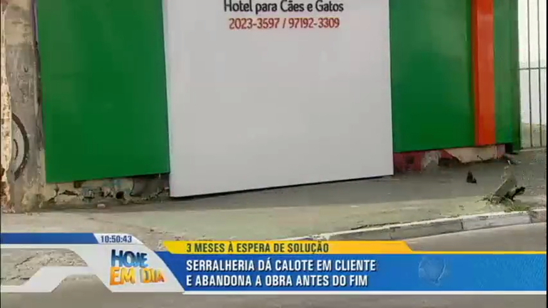 Patrulha do Consumidor: empresa deixa obra pela metade em hotel ...