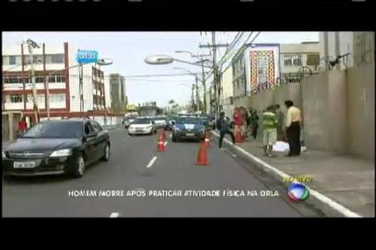 Homem morre após praticar atividade física na orla - Bahia - R7 ...