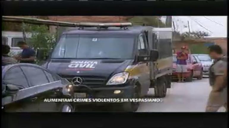 Aumenta a ocorrência de crimes violentos em Vespasiano - Minas ...
